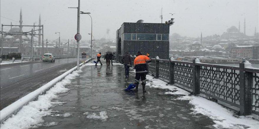 İstanbul kar için hazır