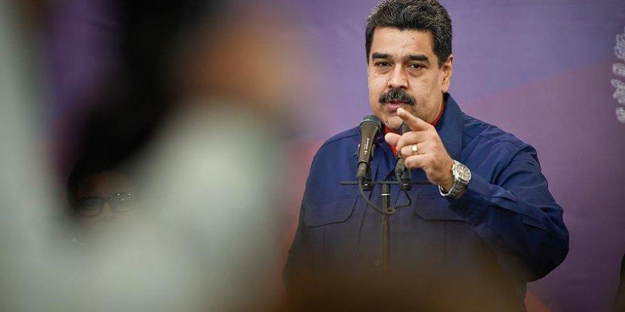Maduro'dan ABD'ye 'suikast' suçlaması