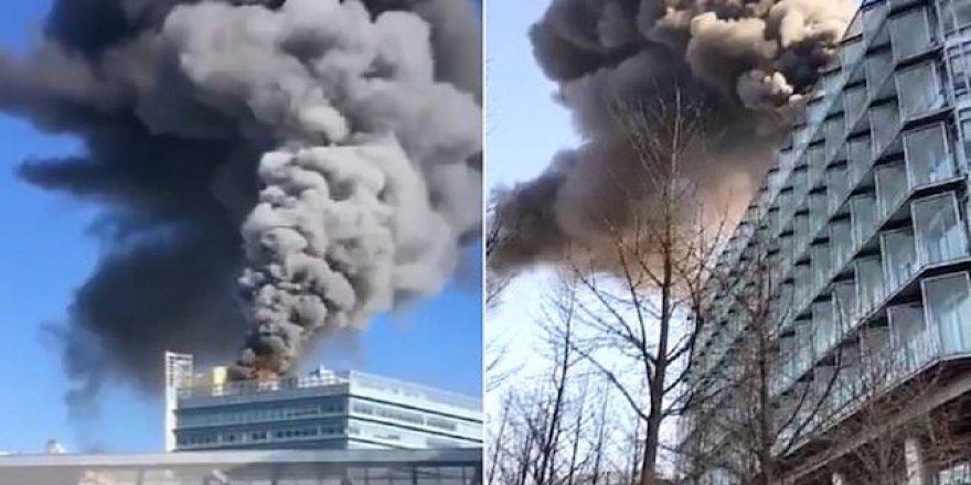 İnternet devi Google'ın ofisi yandı