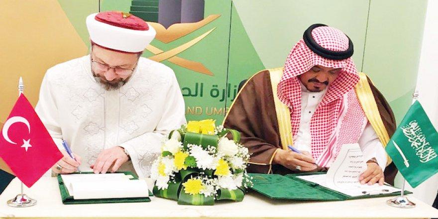 Türkiye ile Suudi Arabistan arasında 2019 hac protokolü imzalandı