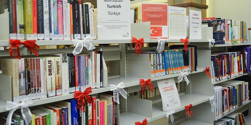 ABD'deki tarihi kütüphanede 'Türkçe köşesi' açıldı