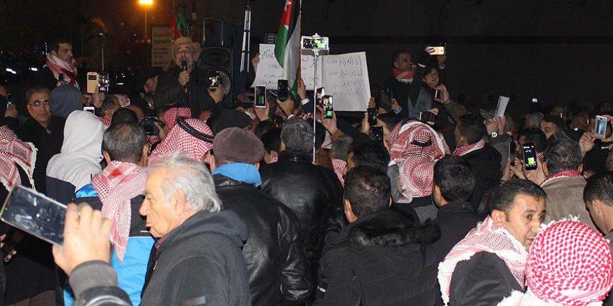 Ürdün'de olaylı gösteriler