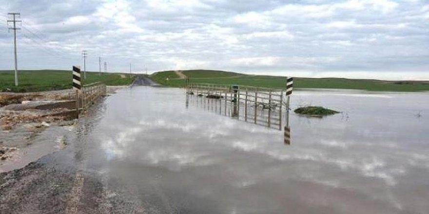 Sağanak yağış Şanlıurfa'da hayatı etkiledi