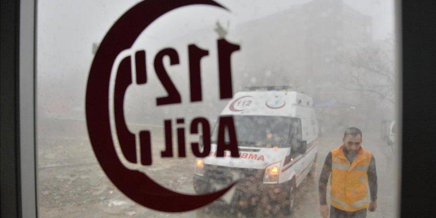 Mardin'de 112 acil servis çalışanları 'asılsız ihbar' yorgunu