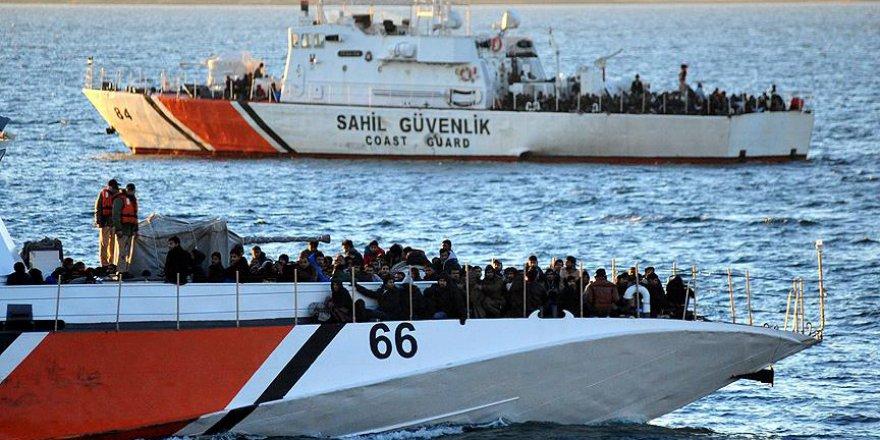10 yıl içinde yakalanan kayıt dışı göçmen sayısı açıklandı