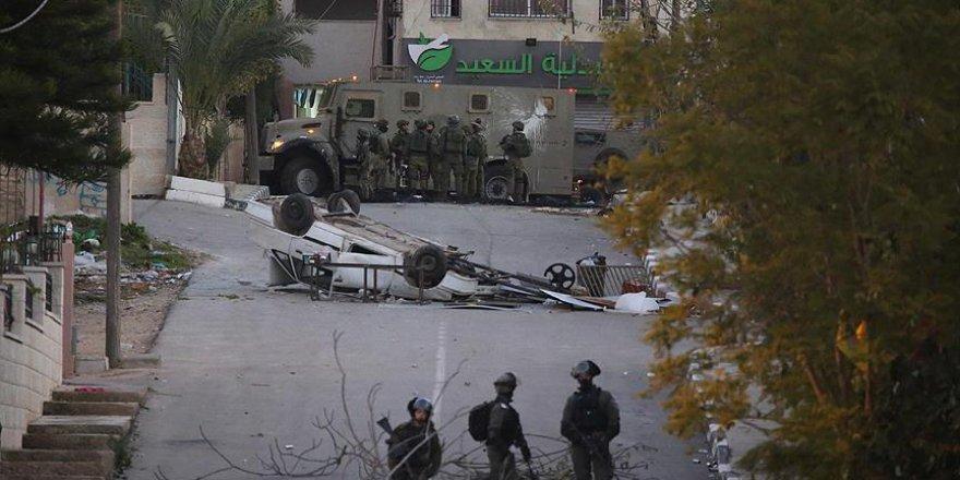 İşgalci İsrail Batı Şeria'da saldırdı