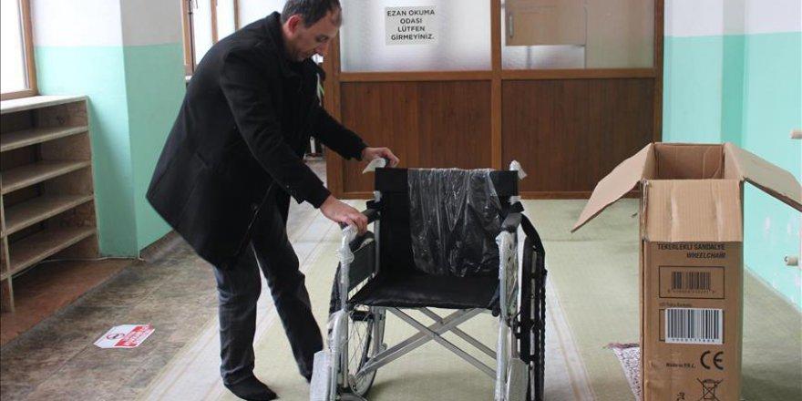 Engelli babasından camiler için örnek proje