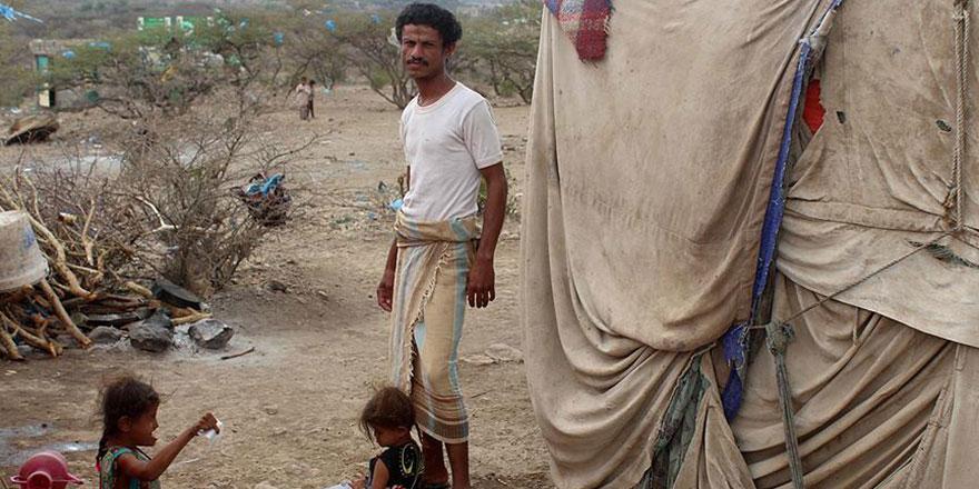 Yemen'de 7 ayda 274 binden fazla kişi yaşadığı bölgeyi terk etti