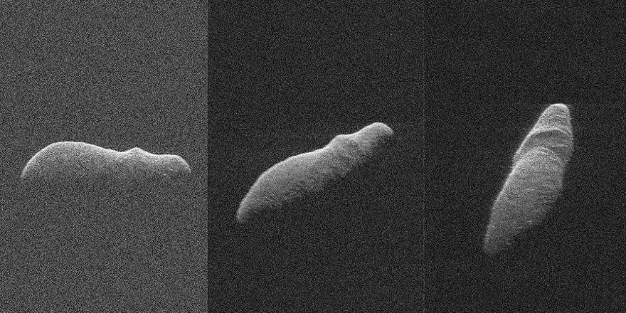 NASA radarları Holiday Asteroidini görüntüledi
