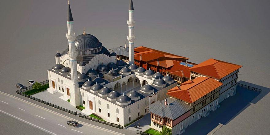 Tamamlandığında Avrupa'nın en büyük camisi olacak