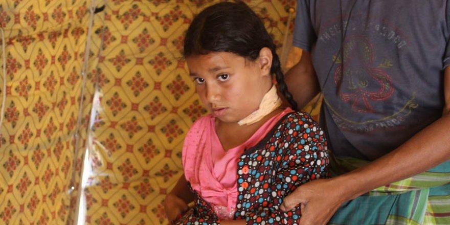 Yemenli babanın kızı için çırpınışı