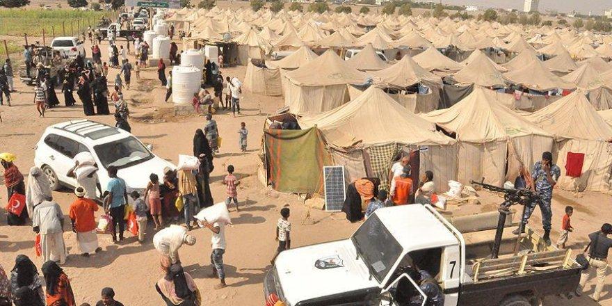 Yemen'deki savaş bölgelerine Kızılay ziyareti