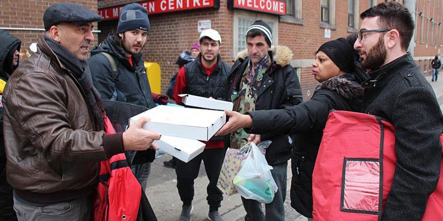 Kanada'da Tuncelili pizzacıdan evsizlere yardım