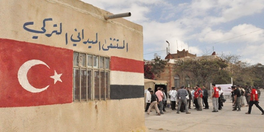 Yemen'deki Sahra hastanesi 1 milyonu aşkın kişiye umut oldu