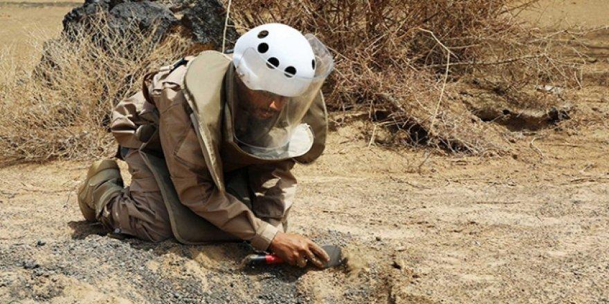 Yemen'de hala tespit edilememiş mayınlar var