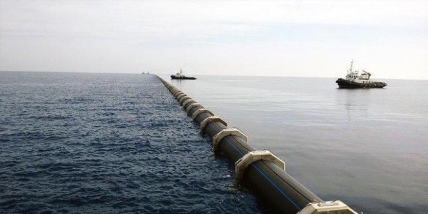 Türkiye'den KKTC'nin tarımına sulama suyu
