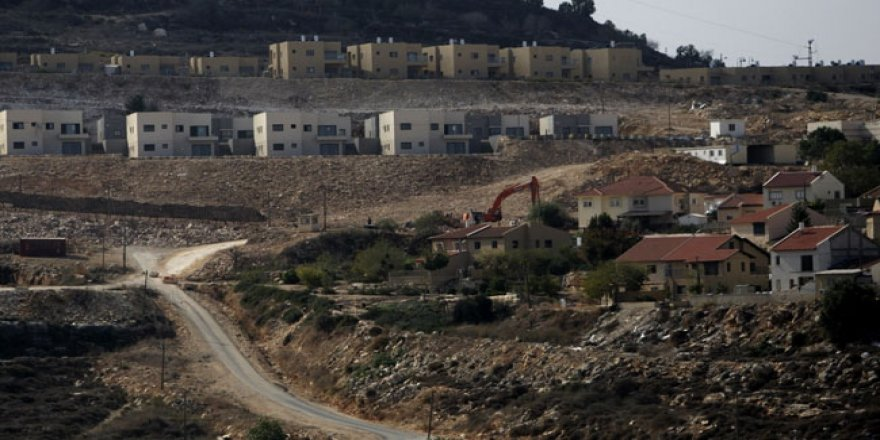İsrail Batı Şeria'da 2 bini aşkın yeni konut inşa edecek