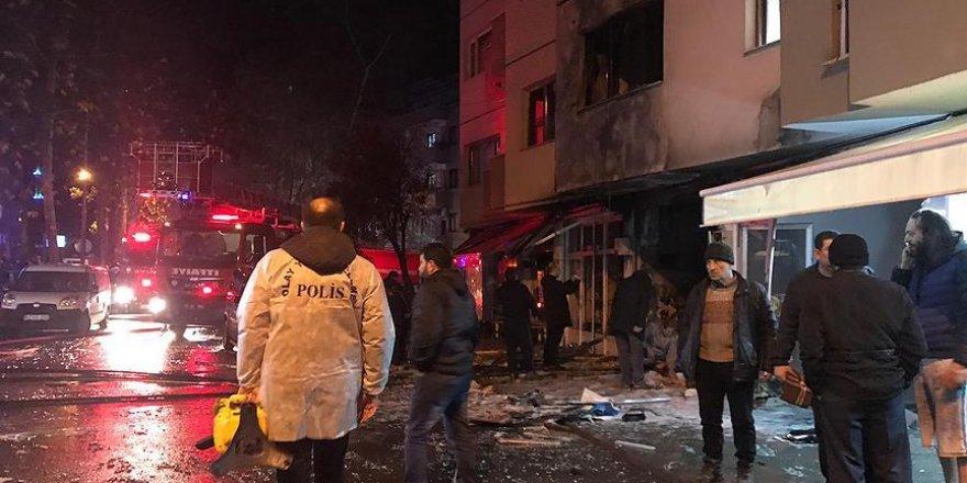 Trabzon'da tüp gaz bayisinde patlama