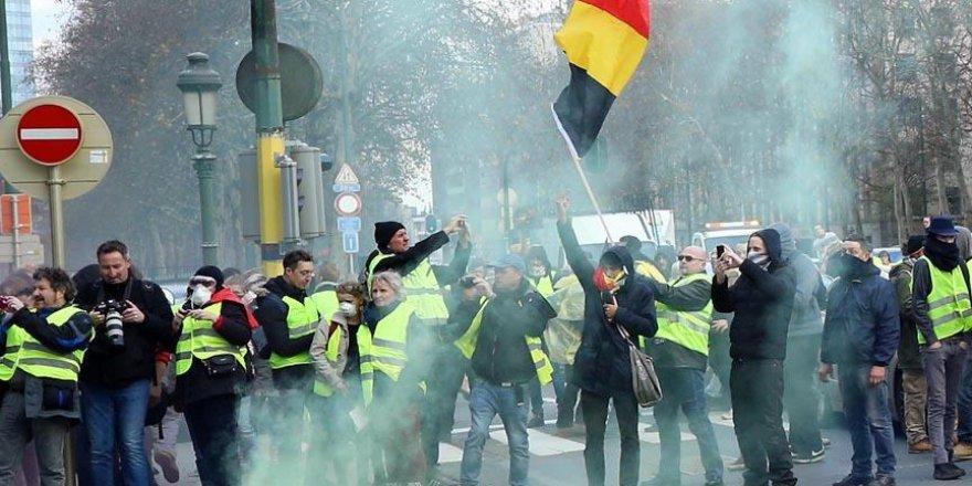 Sarı Yelekliler Belçika'yı da karıştırdı