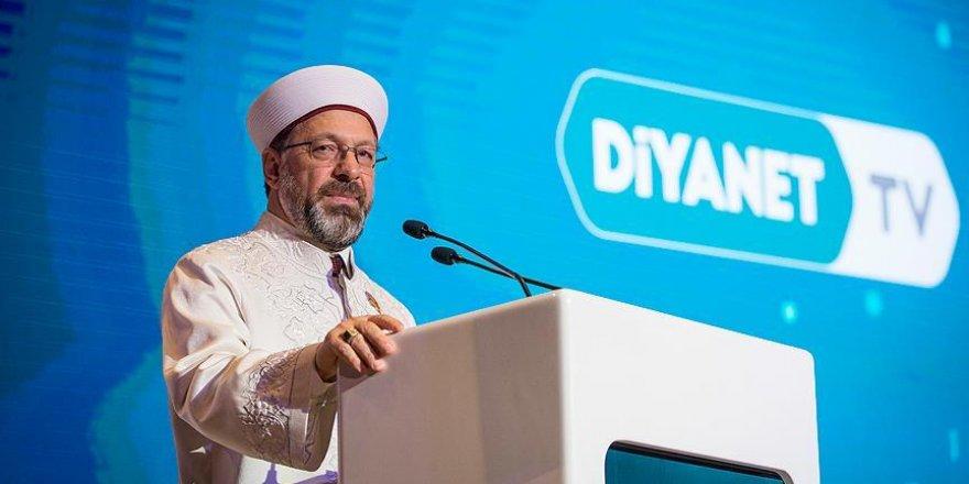 Ali Erbaş Diyanet TV tanıtımında konuştu