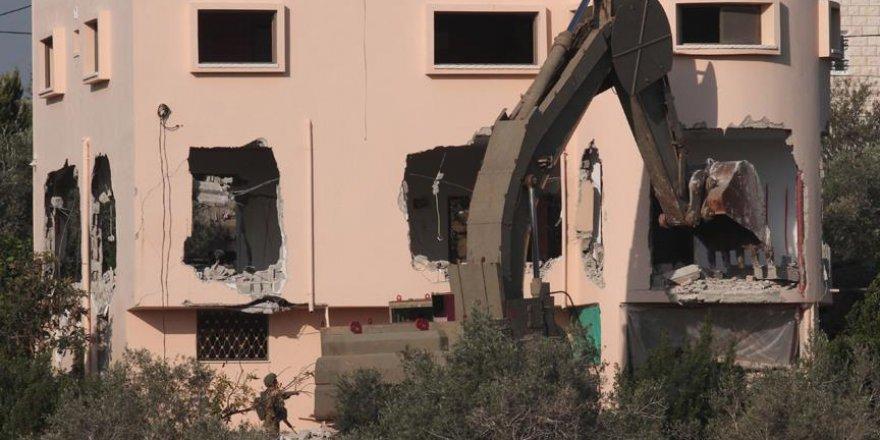 İsrail 2018'de Batı Şeria ile Doğu Kudüs'te 538 ev yıktı