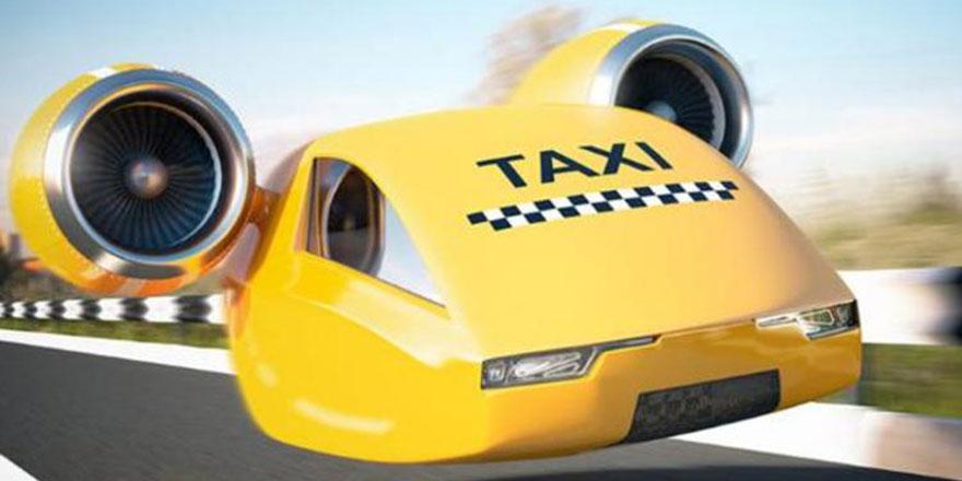 Uber: Uçan taksiler 2020'de hazır