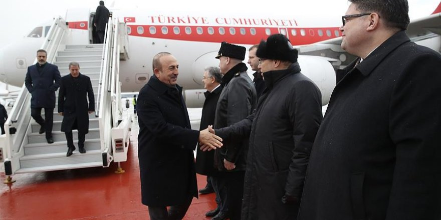 Türkiye'den bakanlar Moskova'da