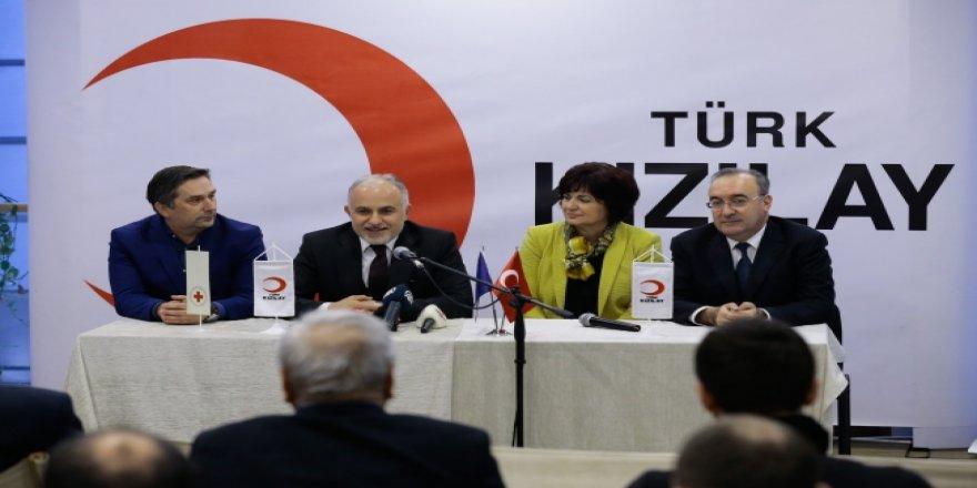 Türk Kızılayı Bosna Hersek'te daimi temsilcilik açtı