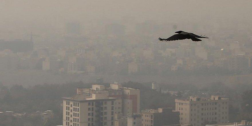 Kış aylarında Tahran'ın havası daha da tehlikeli