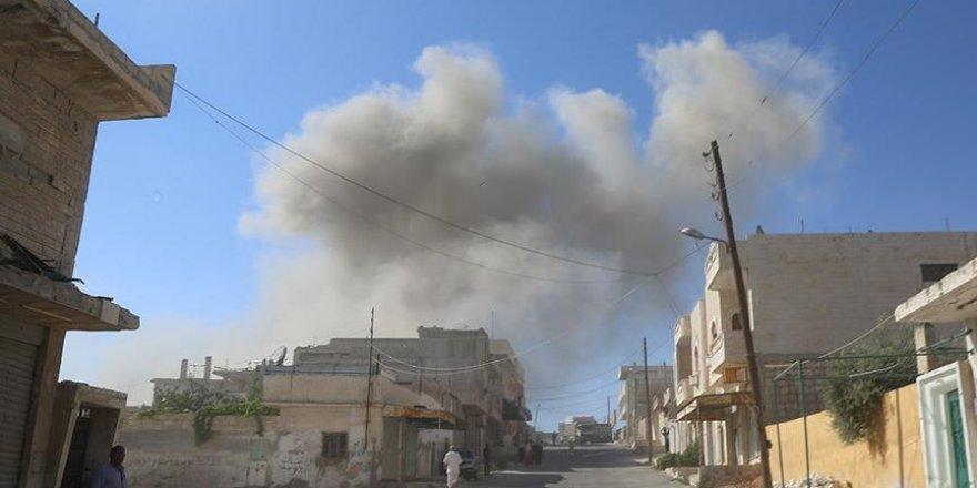 Suriye'de hava saldırısı