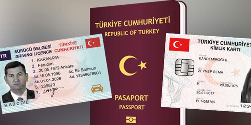 Kimlik, pasaport ve ehliyete büyük zam mı geliyor?