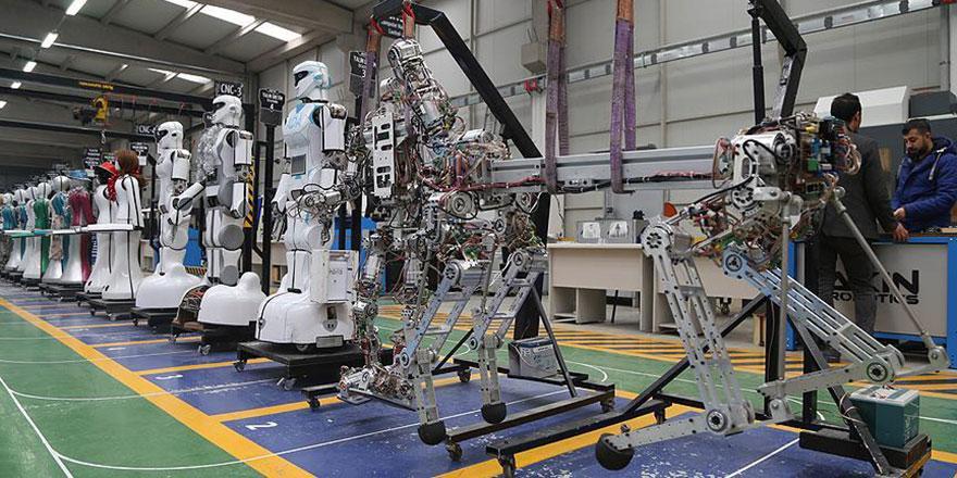 Konya'da üretilen yerli robotlar dünya standartlarını yakalayacak