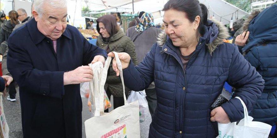 Poşet kararı sonra İstanbul Esnaf Odaları Birliği'nden bez çanta hamlesi