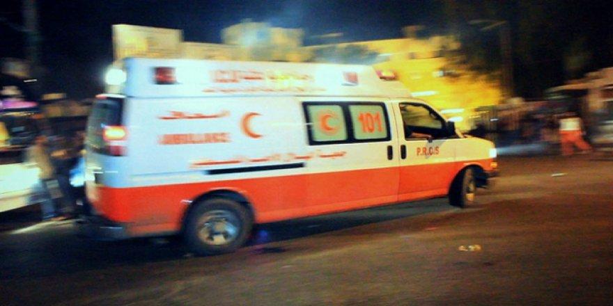Gazze'deki Filistin Radyo ve Televizyon karargahına saldırı