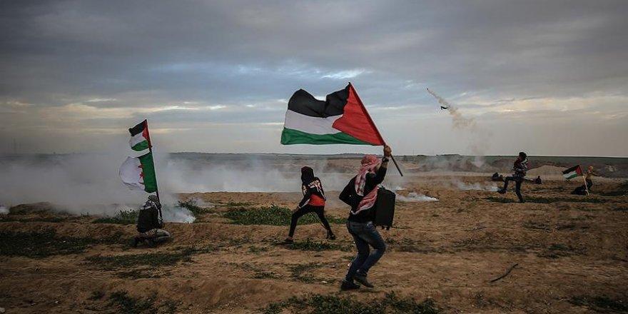 İsrail askerleri Gazze sınırında 6 Filistinliyi yaraladı