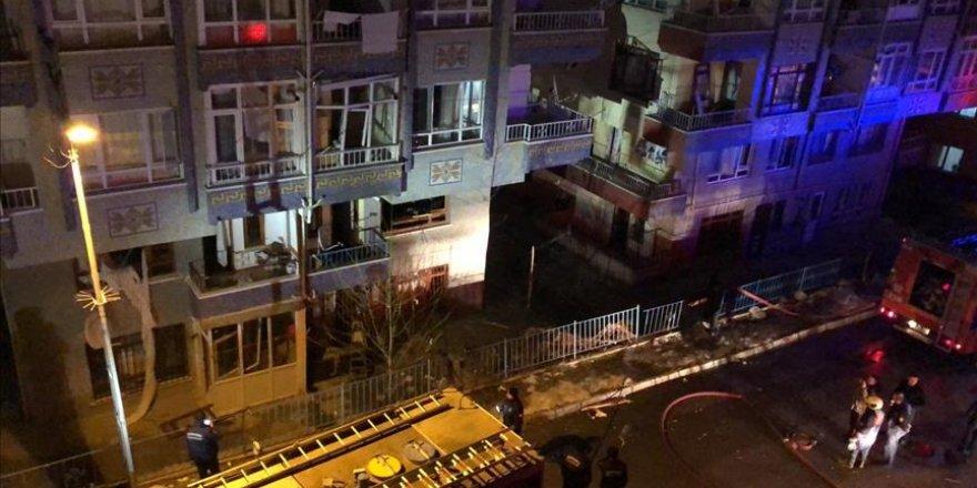 Ankara Pursaklar'da doğal gaz patlaması