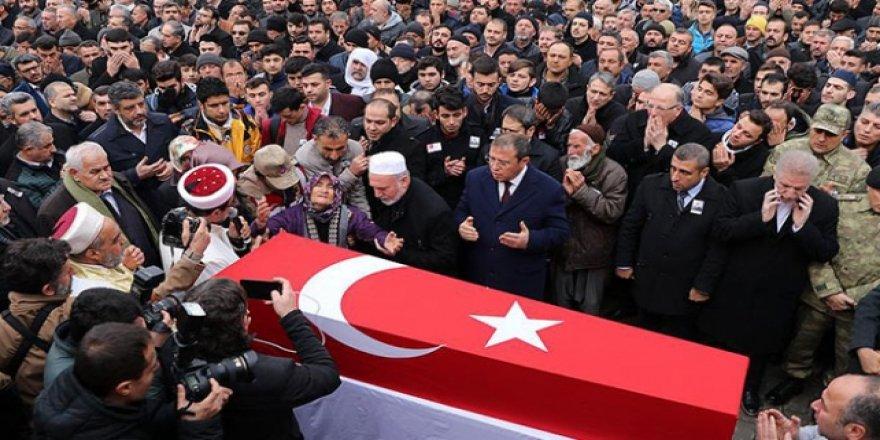 Şehit Ahmet Furkan Köse son yolculuğuna uğurlandı