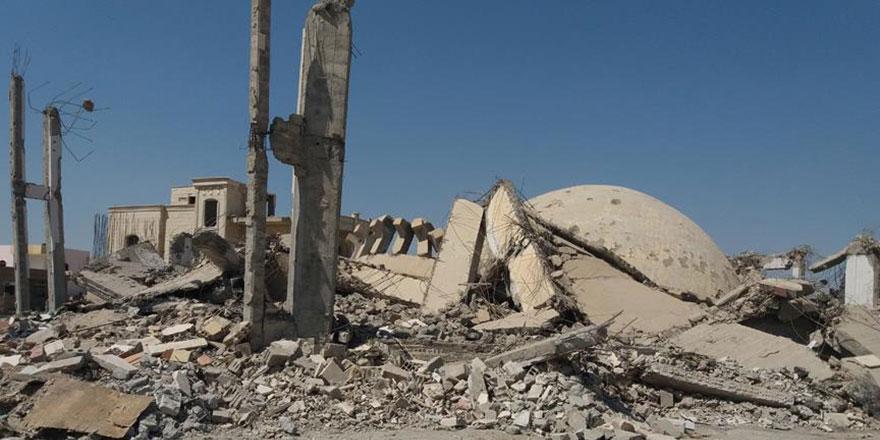 Esed ve Rusya'nın saldırıları nedeniyle İdlib'de cuma namazı kılınamadı