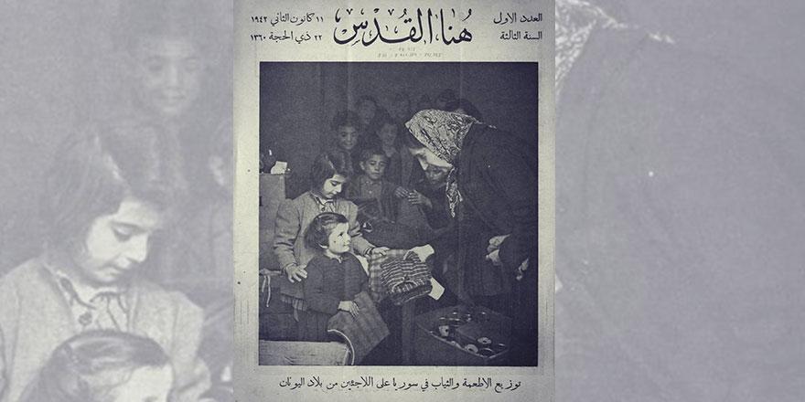 77 yıl önce tam tersiydi: Avrupalı mülteciler Suriye'ye sığınmıştı
