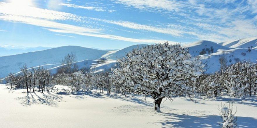 Doğu'da kış mevsiminin zorlukları ve güzellikleri bir arada yaşanıyor