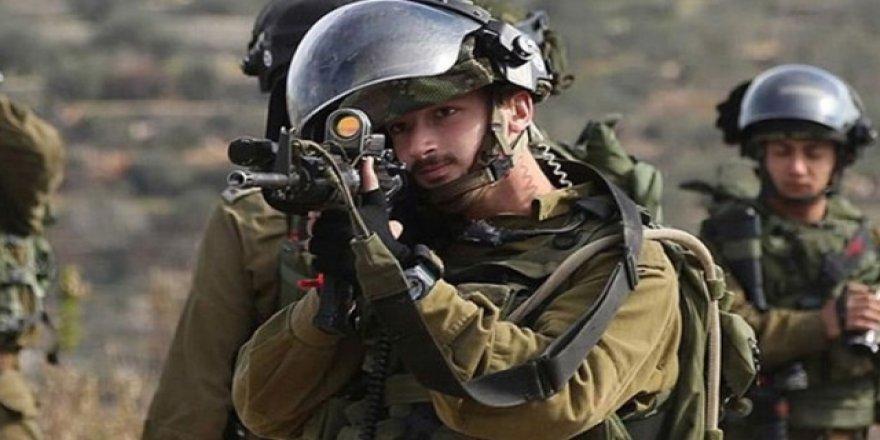 İşgalci İsrail askerlerinden Ramallah'a baskın