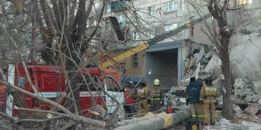 Rusya'daki doğal gaz patlamasında ölü sayısı arttı