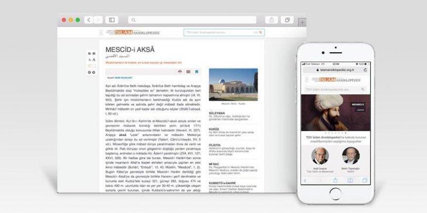 İslam Ansiklopedisi'nin internet sitesi yenilendi