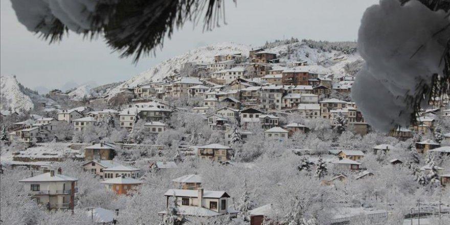Beypazarı kar yağışının ardından bir başka güzel