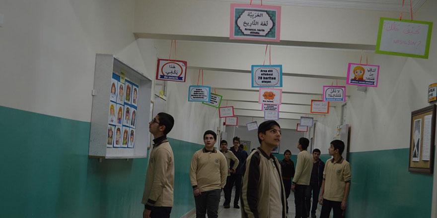 Said Nursi İmam Hatip Lisesinden örnek Arapça öğrenme uygulaması