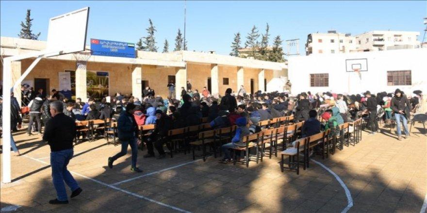 Terörden arındırılan Afrin'de karne heyecanı