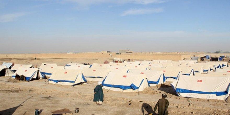 """TDV Afganistan'da """"Kayseri Muhacir Kampı"""" kurdu"""