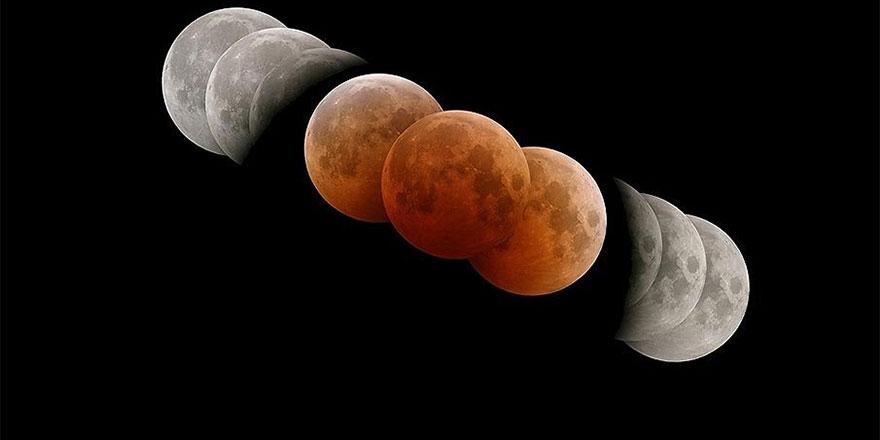 Güneş, Ay ve Dünya peş peşe dizilecek: Kanlı Ay tutulması bu pazar