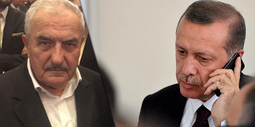 Cumhurbaşkanı Erdoğan'dan Hüsnü ağabeye geçmiş olsun telefonu