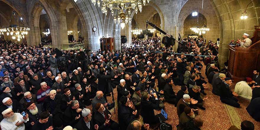 Erzurum'da 500 yıllık '1001 Hatim'in duası edildi